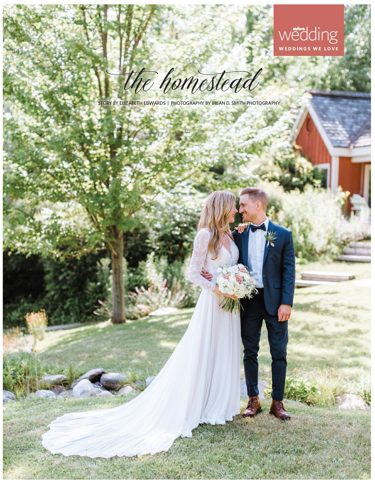 my north magazine northern michigan the homestead august summer wedding glen arbor photography publication