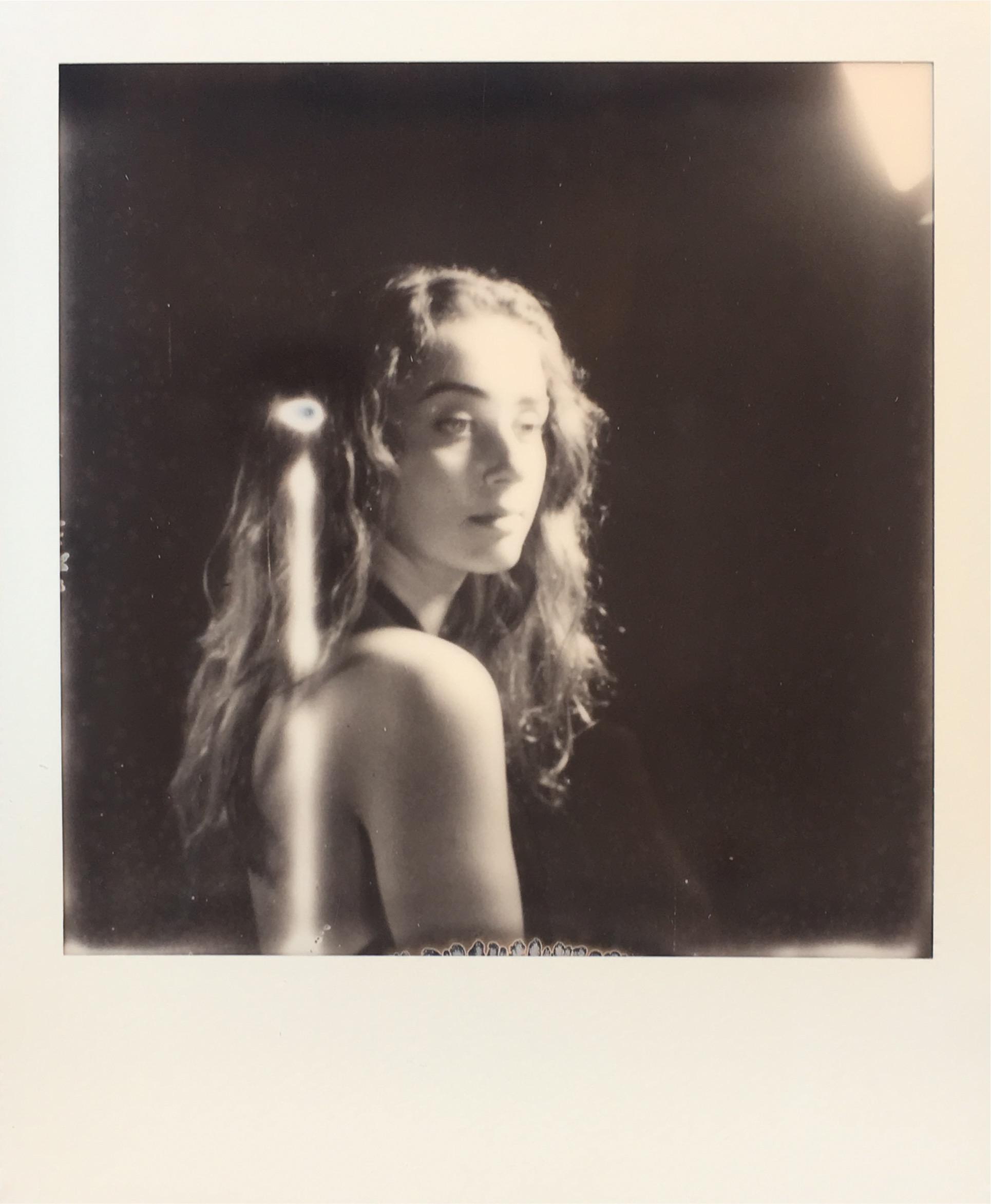 Studio Model Portraits on Polaroid SX-70 and One Step Plus