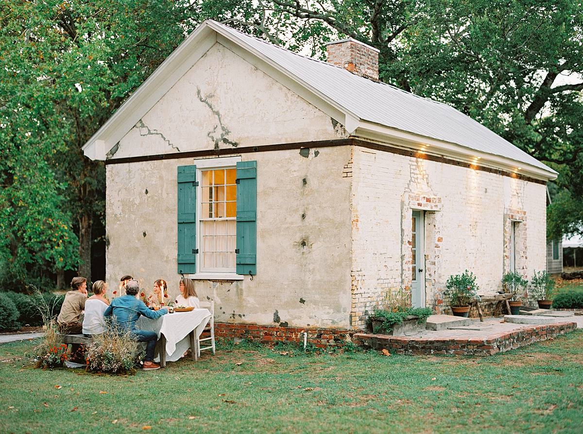 1909 charleston wavering place elopement wedding fall film southern styled 00310_web