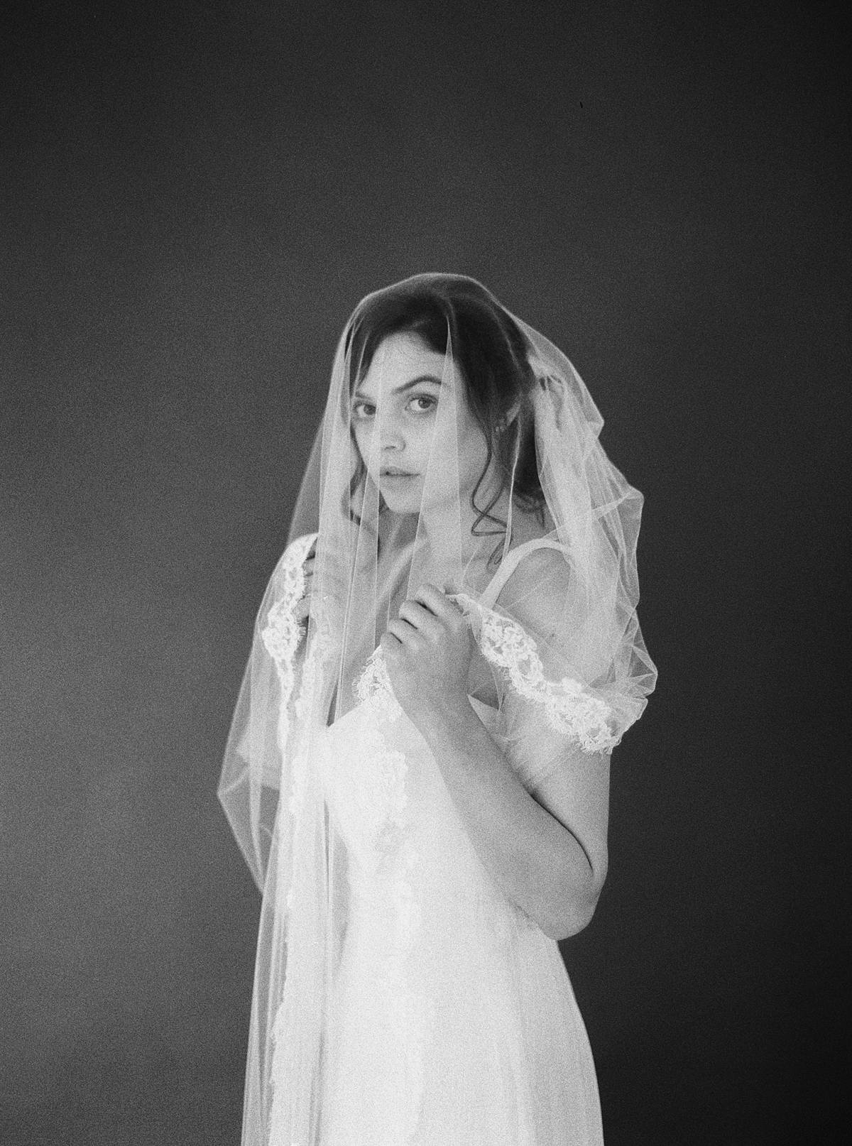 1906 white room charleston wedding bridal studio portraits film 00014