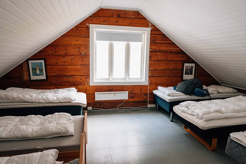 iceland hostel loft backpacking and driving around the ring road